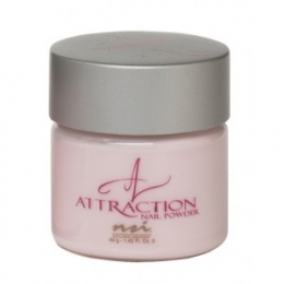 Puder NSI Attraction Nail Powder 40g - Extreme Pink