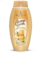 Afrodita - Kremowy żel pod prysznic - Orange Cream - 250ml