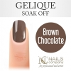 NC Nails - Gelique - Brown Chocolate - 6ml