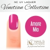 NC Nails Company - Lakier hybrydowy - Venetian Collection - Amore Mio - 6ml