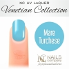NC Nails Company - Lakier hybrydowy - Venetian Collection - Mare Turchese - 6ml