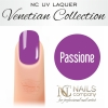 NC Nails Company - Lakier hybrydowy - Venetian Collection - Passione - 6ml