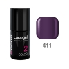 Elarto - Lacogel Hybrid Nail Color nr 411 - fioletowy - 7ml