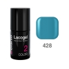 Elarto - Lacogel Hybrid Nail Color nr 428 - turkusowy - 7ml
