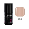 Elarto - Lacogel Hybrid Nail Color nr 439 - beżowy - 7ml