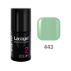 Elarto - Lacogel Hybrid Nail Color nr 443 - miętowy - 7ml