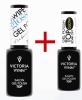 Victoria Vynn - Top Gel polish Gloss no wipe + Gel polish Glow Top Soak off