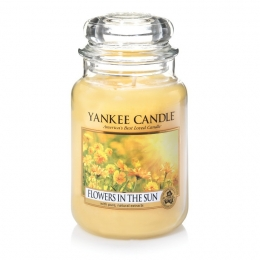 Yankee Candle - świeca - Flowers in The Sun - 623g - Koniec lata 2016